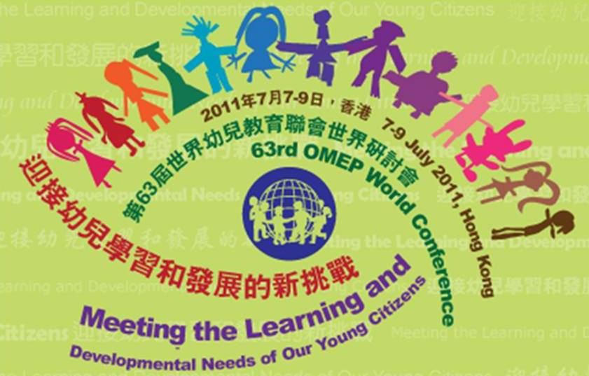 Jill Presented to the World Organisation for Early Childhood Education in Hong Kong