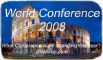 Jill attended ISME World Conference - Early Childhood in Rome Italy in 2008